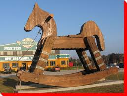 Innisfil Wooden Horse